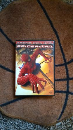 Spider man 2002 dvd widescreen special edition for Sale in Cypress Gardens,  FL