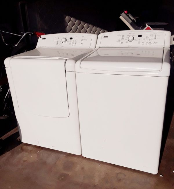 Kenmore Elite king Size Capacity Washer and Dryer Pickup Only