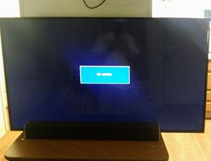 50 inch flat screen tv with sound bar for Sale in Phoenix, AZ
