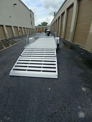 14 ft Aluma utility trailer for Sale in West Palm Beach, FL