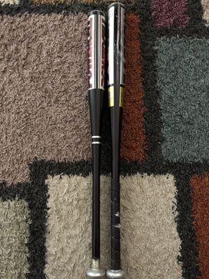 2 baseball bats for Sale in Herndon, VA