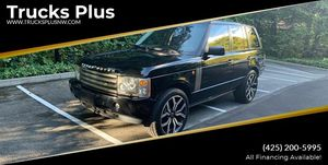 2005 Land Rover Range Rover for Sale in Seattle, WA