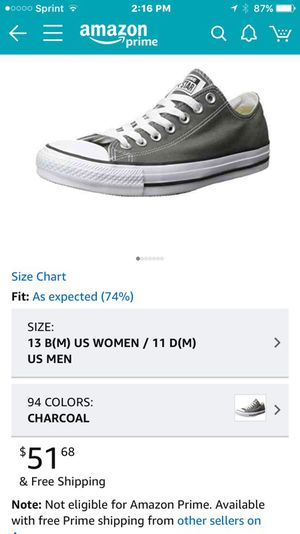 Converse Chuck Taylors. for Sale in Herndon, VA