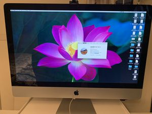 Mid 2011, 27 inch imac. Upgraded to 12gb ram (max 16gb). 1tb storage. Super fast. for Sale in Los Angeles, CA