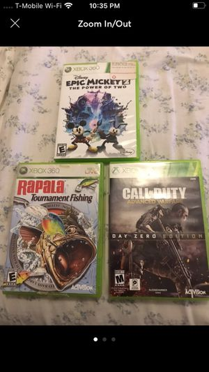 Xbox 360 lot of 3 games for Sale in Kissimmee, FL