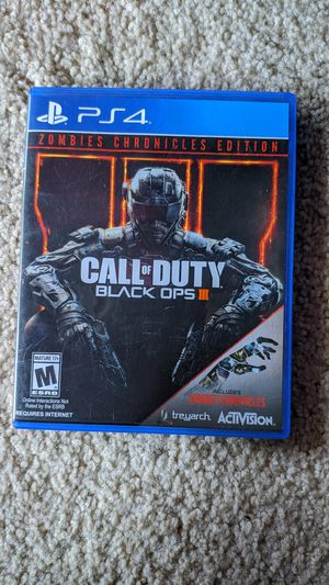 Call of Duty III Black ops for Sale in Fremont, CA