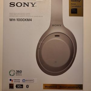 Sony WH-1000XM4 ANC Bluetooth Headphones for Sale in San Diego, CA