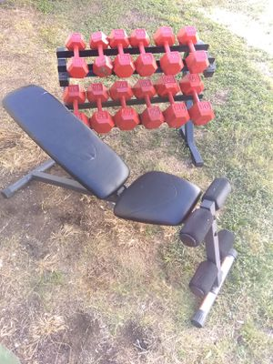 Weilder hex dumbbell set for Sale in Arlington, TX
