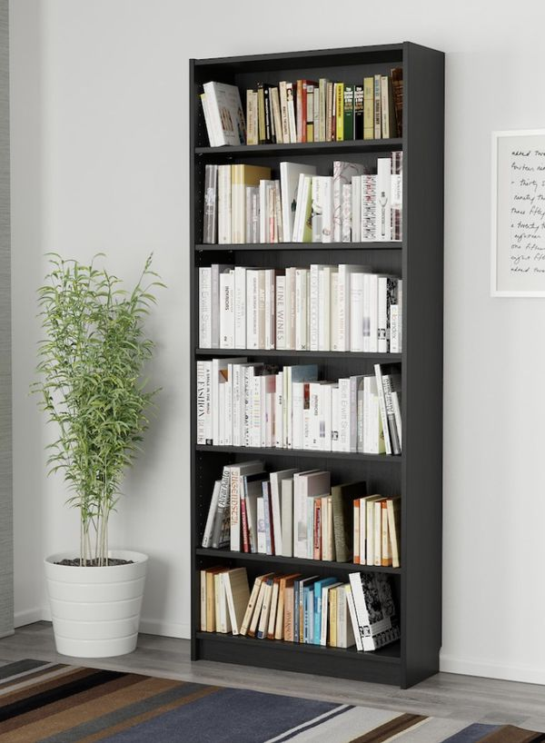 IKEA Bookcase (Black/brown) - set of 2