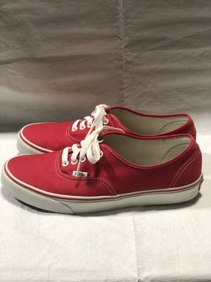 "Vans ""Authentic"" Red size 10 for Sale in Cary, NC"