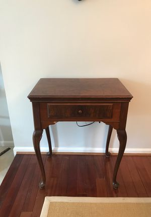 Antique Sewing Machine Table for Sale in Annandale, VA
