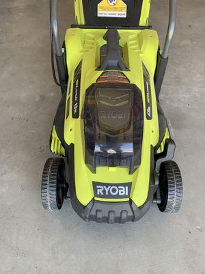 Ryobi 18v Lawnmower (no battery included) for Sale in Fresno, CA
