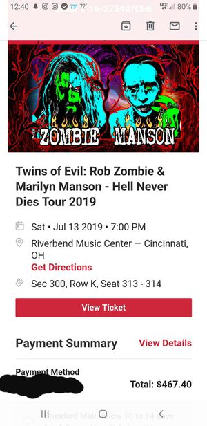 Concert Tickets for Sale in Sidney, OH