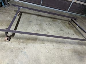 TWIN SIZE METAL BED FRAME for Sale in Fresno, CA