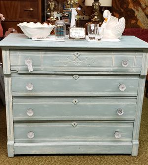 Beautiful Antique Shabby Chic Dresser for Sale in Parkland, WA