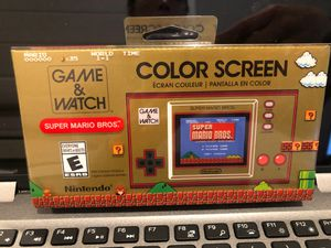 Nintendo GAME & WATCH: SUPER MARIO BROS for Sale in San Jose, CA