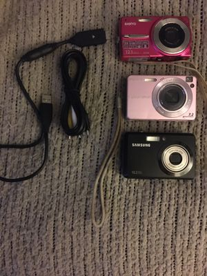 Digital cameras all for only $50 Firm for Sale in Hanover, MD