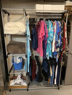 Wardrobe or Utility closet with 5 storage shelf for Sale in Downers Grove, IL