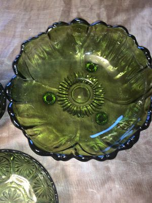 Vintage-large green bowl for Sale in Issaquah, WA