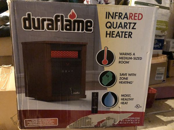 Duraflame infrared Quartz Heater
