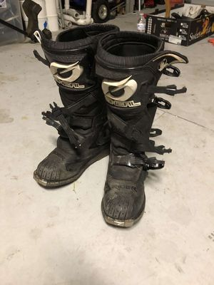 Motorcross dirtbike boots size 9 for Sale in Orlando, FL