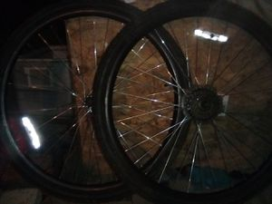29 inch mountain bike wheelset with tires and tubes for Sale in Modesto, CA