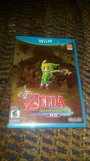 Zelda The Windwaker HD - Nintendo Wii U video game for Sale in Philadelphia, PA