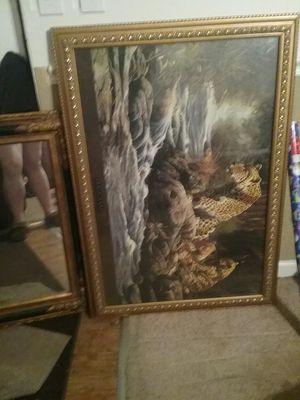 safari pictures and mirror for Sale in Smyrna, TN