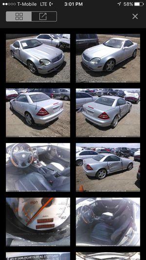 1999 Mercedes Slk parting out for Sale in Phoenix, AZ