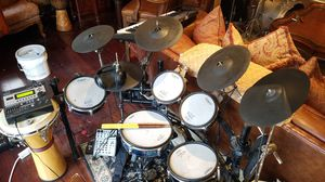 Rolland electric drum set. Td12 brain td30 hihatt and pads and misc extr parts. for Sale in Merion Station, PA