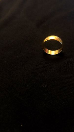 Gold band size 8-9 not real gold for Sale in Pico Rivera, CA