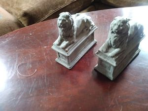 Lion bookends for Sale in Fort Worth, TX