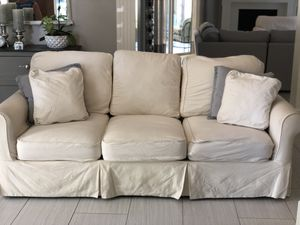 Ballard Design Baldwin slipcover sofa for Sale in Tampa, FL