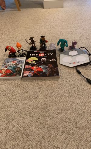 Disney Infinity Wii set for Sale in Bethesda, MD