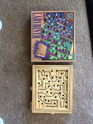 USED: Labyrinth Game for Sale in Chippewa Falls, WI