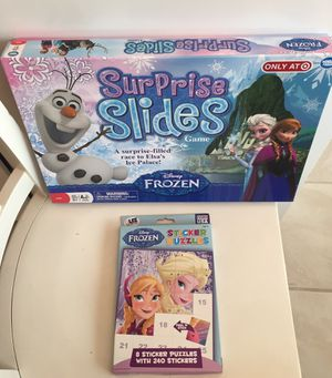 Disney Frozen Toys!! Sticker Puzzle & Game! for Sale in Riverwoods, IL