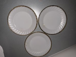 3 Fire King plates for Sale in Las Vegas, NV