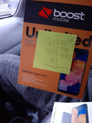 2 Samsung Galaxy A10 call or text me if interest {contact info removed} for Sale in Romulus, MI