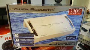 Power Acoustik 1,300 Marine 4 Ch. for Sale in Corona, CA