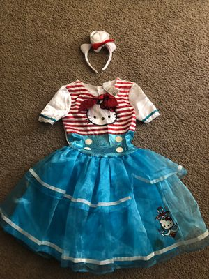 Hello kitty sailor costume for Sale in Lake Elsinore, CA