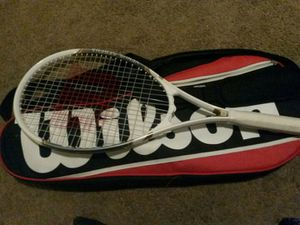 Wilson tennis racket only time no scratches or ripped for Sale in San Bernardino, CA