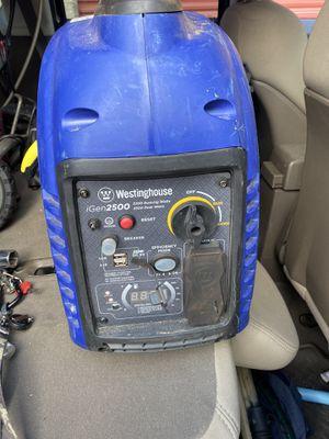 Westinghouse iGen2500 gas generator for Sale in Colorado Springs, CO