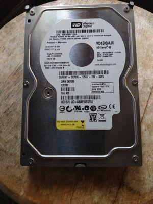 Western Digital 160GB SATA Desktop Hard Drive / Like New for Sale in Fullerton, CA