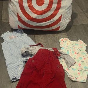 Babygirl Clothes Newborn-3 Months (some Are New With Tags On Them,Never Worn)pick Up Only $20 OBO for Sale in North Las Vegas, NV