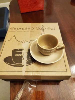 Set of 6 espresso cups for Sale in Manassas, VA