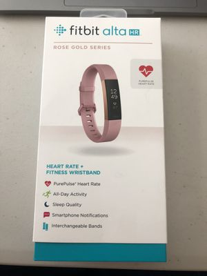 Fitbit Alta HR - Rose Gold - Great Condition for Sale in Nashville, TN
