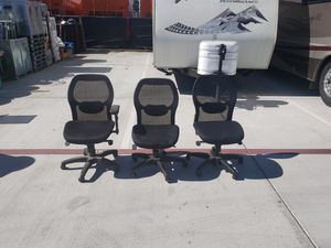 Office chairs no armrests for Sale in Fullerton, CA