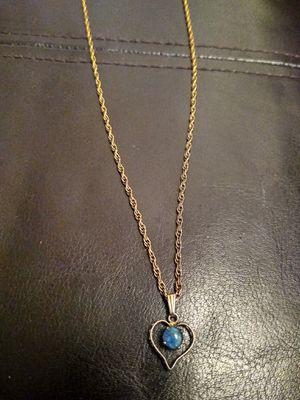 Blue fire Opal necklace for Sale in Lynnwood, WA