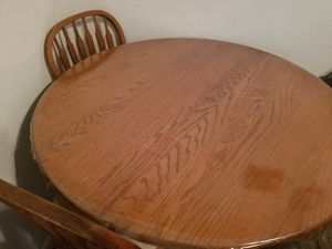 Solid Oak Wood Table for Sale in Austin, TX