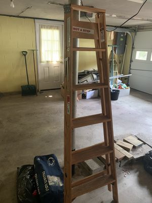 Warner wood 6ft ladder for Sale in Greensburg, PA